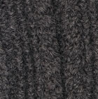 Charcoal Classic Cable Alpaca Scarf