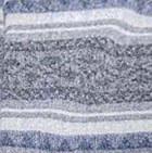C0208-Denim-Grey Alpaca Cherokee Blanket