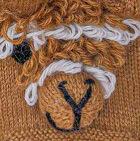Camel Alpaca Kids - Alpaca Fingerless Gloves