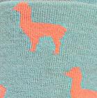 Arctic Blue-Melon Alpaquita Unisex Socks