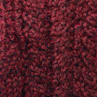 Burgundy Melange Alpaca Cable Fingerless Gloves