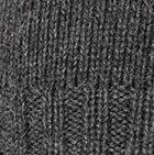 Charcoal Baby Bunny Ears Alpaca Hat