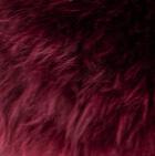 Burgundy Mlge. PREMIUM Baby Alpaca Fur Elegant Headband