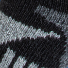 Black-Grey-Grey Heather Alpaca Ski & Snowboard Socks Light Weight