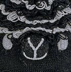 Black Comb. 2 Alpaca Kids - Alpaca Hat with Ear Flaps