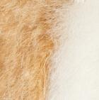 "Camel-White Baby Alpaca Fur - Penguin Ornament 13"""