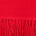Lt. Red Woven & Brushed Baby Alpaca Throw