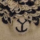 Beige Comb.3 Alpaca Kids - Alpaca Hat with Ear Flaps