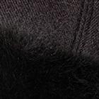 Black PREMIUM Royal Alpaca Fabric Fur Hat