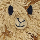 Beige-Camel Cute Alpaca Hat with Ear Flaps