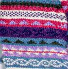Sky Mlge.-Multicolor Multicolored Woolen Fingerless Gloves