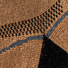 Camel-Black Unisex Shorty Athletic Alpaca Socks