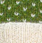 Comb. Green Mlge-Natural American Brushed Alpaca Hat