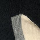 Black-Natural Sport Golf Socks