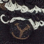 Black Alpaca Kids - Alpaca Fingerless Gloves
