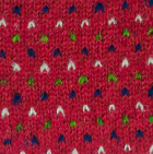 Red Snowfall Brushed Alpaca Fingerless Gloves