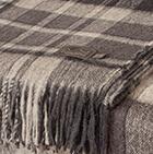 C0106-Grey-Lt.Grey-Natural Scottish Blanket Heavy Weight