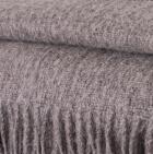 Lt. Grey Alpaca Solid Blanket
