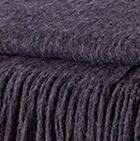 Navy Alpaca Solid Blanket