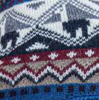 Steel Blue Machupicchu Alpaca Hat with Ear Flaps