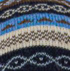 Black-Multicolor Multicolored Juliaca Hat