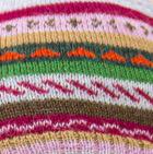 Glacier Grey-Multicolor 1 Jacquard Striped Alpaca Hat