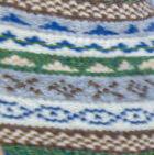 Natural-Multicolor 1 Fair Isle Alpaca Fingerless Gloves