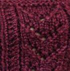 Cherry Baby - Silk Knit Fingerless Gloves