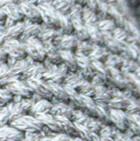 Braided Lt. Grey - Natural Stella Eco Alpaca Cotton Infinity Cowl