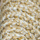 Braided Beige - Camel Stella Eco Alpaca Cotton Infinity Cowl