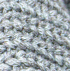 Braided Lt. Grey - Natural Stella Eco Alpaca Cotton Fingerless Short Gloves