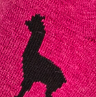 Fuchsia-Black Alpaquita Unisex Socks