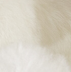 "Cream Baby Alpaca Fur-Unicorn Ornament 12"""