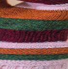 Burgundy Mlge.-Multicolor Justin Striped Alpaca Fingerless Gloves