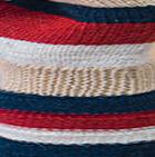 Beige-Multicolor Justin Striped Alpaca Fingerless Gloves