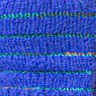 Periwinkle Brushed Striped Alpaca Fingerless Gloves