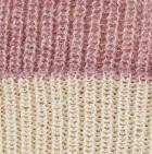 Ballet Rose Mlge.-Natural Unisex Reversible knit English Alpaca Hat