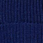 Navy Men's Double Knit English Alpaca Hat