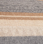C0304-Silver-Camel-Beige Alpaca Cherokee Blanket