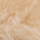 Beige PREMIUM Baby Alpaca Fur Hat