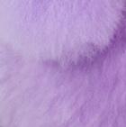 """Lavender Baby Alpaca Fur-Poodle Dog 13"""""""