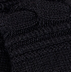 Black Ginevra Royal Alpaca Gloves