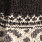 Dk. Brown Ohio Alpaca Half Finger Gloves