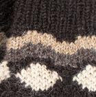 Dk. Brown Misuri Alpaca Fingerless Gloves