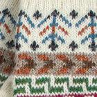 Natural Ilave Alpaca Fingerless Gloves