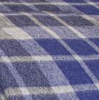 103-Navy/Lt. Grey Scottish Blanket