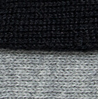Black-Lt.Grey Reversible Alpaca Gloves Heavy Weight