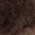 Brown PREMIUM Baby Alpaca Fur Elegant Headband