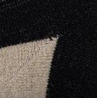 Black-Beige Alpaca Ankle Alpaca Face Socks