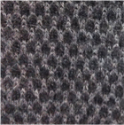 Charcoal-Lt.grey Honeycomb Baby Alpaca Fingerless Gloves Long